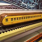 Model Lionel Union Pacific Train New York Transit Museum Annex Train Show, Grand Central Terminal, New York City by lenspiro