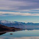 Antelope Island in February  by brotbackgeraet