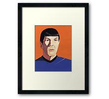 Mr Spock Framed Print