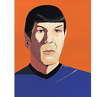 Mr Spock Photographic Print