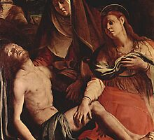 'Christ and Maria Magdalena' by Agnolo Bronzino by Legacy1Gallery