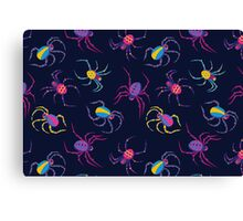 Cute Spider PATTERN  Canvas Print