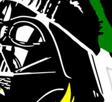 Dub Vader (green-yellow) Sticker