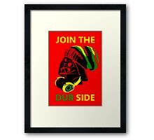 Dub Vader (green-yellow) Framed Print