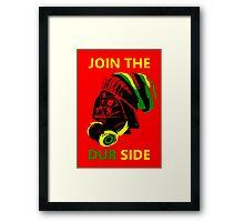 Dub Vader (green-yellow) Framed Print