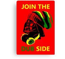 Dub Vader (green-yellow) Canvas Print