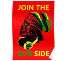 Dub Vader (green-yellow) Poster