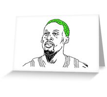 Rodman Greeting Card