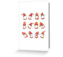 Happy Little Santas Greeting Card