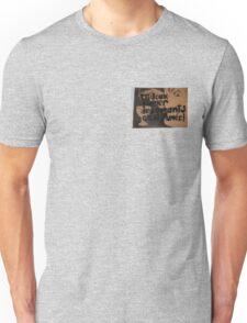 Lovers sweet talk is just smoke... Unisex T-Shirt