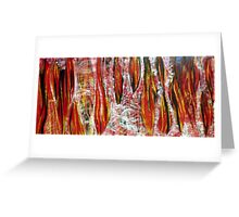 Acrimonious fury 2006 oil on canvas Greeting Card