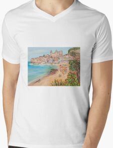 Memorie d'estate Mens V-Neck T-Shirt