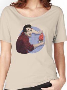 Markiplier & MMMMMMMMMM (shirt only) Women's Relaxed Fit T-Shirt