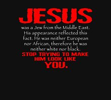 Jesus Was a Jew - Red/White Unisex T-Shirt