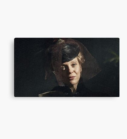 Mary, Mary, Quite Contrary Canvas Print