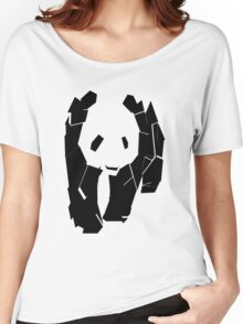 Panda At The Corner Women's Relaxed Fit T-Shirt