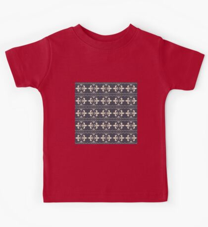 royal seamles pattern  Kids Tee