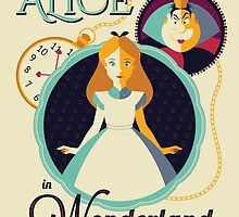 Alice in Wonderland by UniqSchweick12