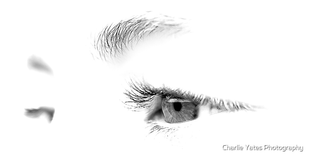 Black and White Thoughts by Charlie Yates Photography