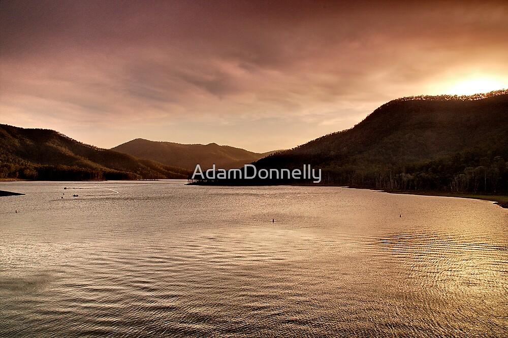 Sunset - Borumba Dam by AdamDonnelly