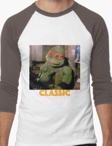 Old school turtle Men's Baseball ¾ T-Shirt