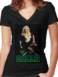 Kelly Bundy Women's Fitted V-Neck T-Shirt