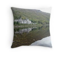 KYLEMORE ABBEY Throw Pillow