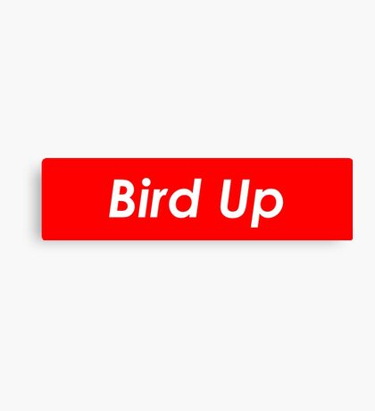 Bird Up Canvas Print