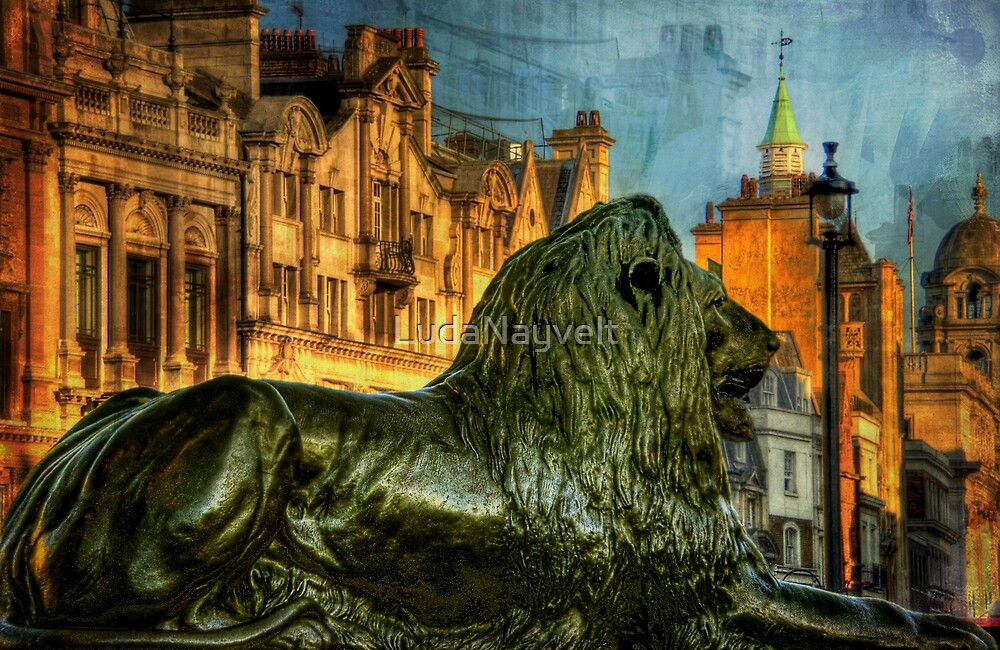 Lion of London by LudaNayvelt