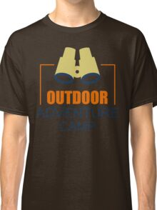 Camping Camp Outdoor Nature Mountain Green Adventure Classic T-Shirt