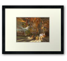 The Past Alive in the Present in Ghana Framed Print