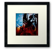 Analogue passion Framed Print