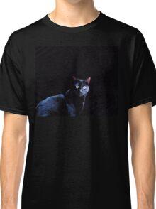 Cat in Black Classic T-Shirt