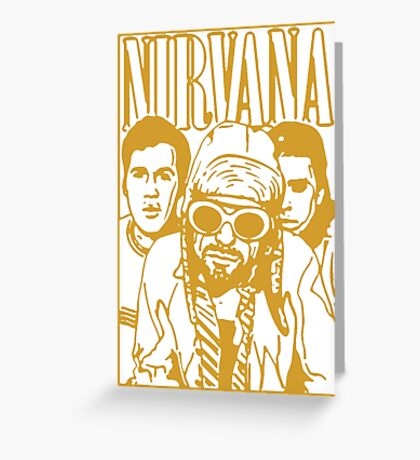 Nirvana Greeting Card