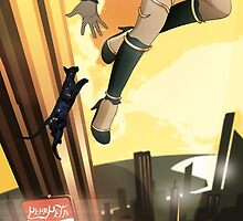 Kat | Gravity Rush Tribute by lorenzoimperato