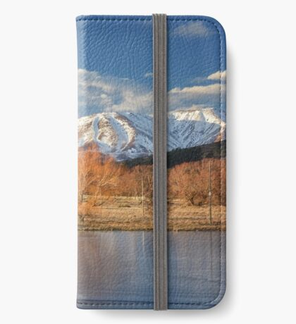 Golden Rays on Ice  iPhone Wallet/Case/Skin