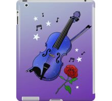 Blue Violin iPad Case/Skin