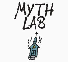 MYTH LAB  (Light background) by atheistcards