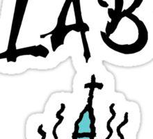 MYTH LAB  (Light background) Sticker