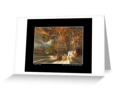 The Past Alive in the Present in Ghana Fine Art Poster Greeting Card
