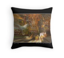 The Past Alive in the Present in Ghana Fine Art Poster Throw Pillow
