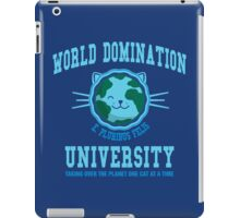 World Domination University iPad Case/Skin