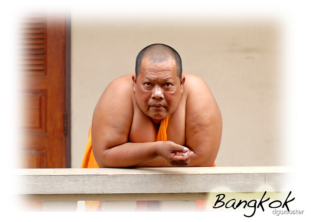 A Monk in Thailand by dgwooster