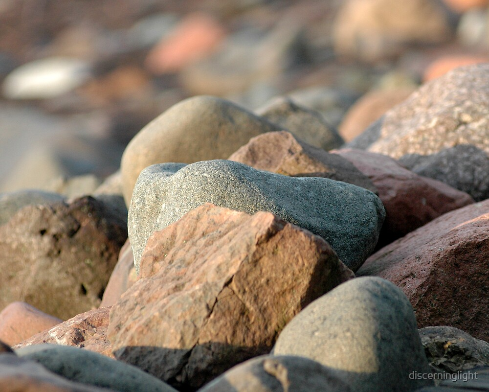Rocks on Beach by discerninglight