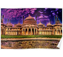 The Royal Pavilion  Poster