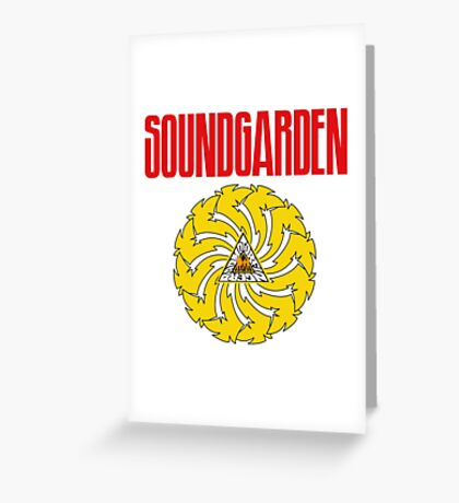Soundgarden Greeting Card