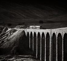 Evening local, Ribblehead, Yorkshire, England. by 2cimage