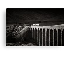 Evening local, Ribblehead, Yorkshire, England. Canvas Print