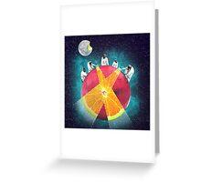 Apples & Oranges Greeting Card