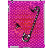 Sookie Skull Safety Pin Purple and Pink iPad Case/Skin